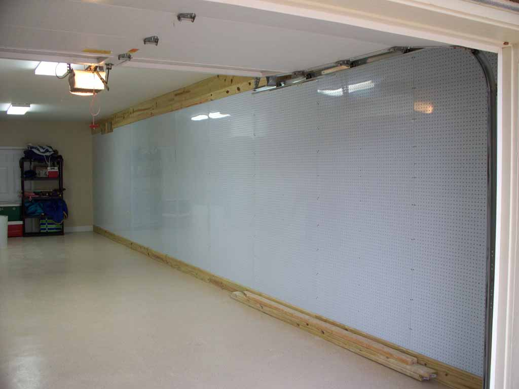 Pegboard Wall | Quality First Construction Services, LLC