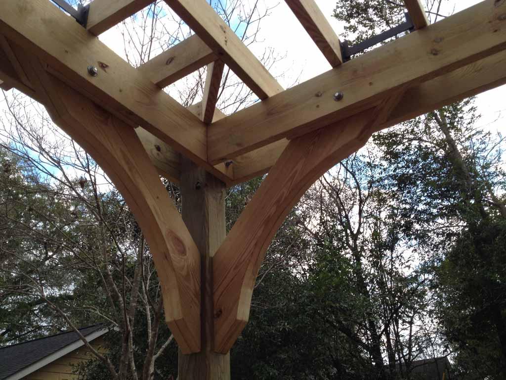 Backyard Pergola   Quality First Construction Services, LLC